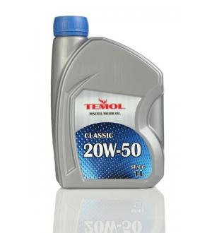 Моторное масло для легковых автомобилей CLASSIC 20W-50