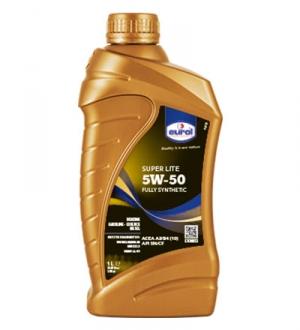 Моторное масло для легковых автомобилей Eurol Super Lite 5W-50