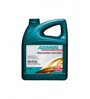 Моторное масло для грузовых автомобилей Professional 0530 E6/E9