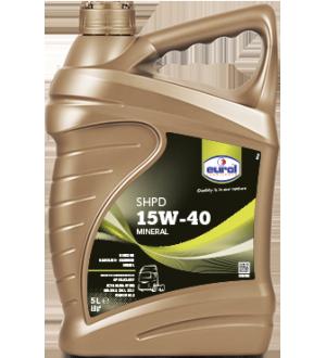 Моторное масло для грузовых автомобилей Eurol SHPD 15W-40