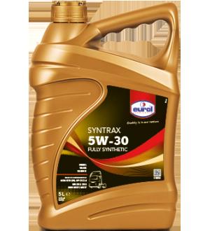 Моторное масло для грузовых автомобилей Eurol Syntrax 5W-30 CF