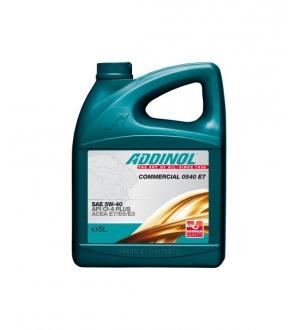 Моторное масло для грузовых автомобилей Commercial 0540 E7